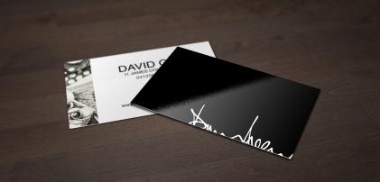 David Green Artist Business Cards